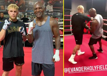Jake Paul coaching with boxing legend Evander Holyfield forward of Ben Askren struggle as YouTube star vows to 'embarrass' UFC star Nate Diaz subsequent