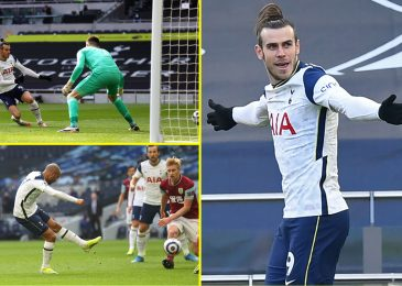 Gareth Bale again to his finest with glorious brace as Harry Kane continues exceptional scoring file in opposition to Burnley in Tottenham rout