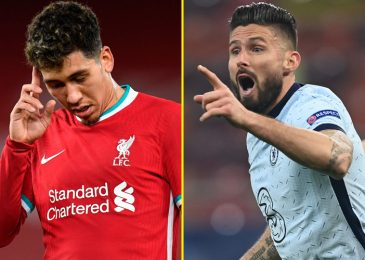 Tony Cascarino would 'completely' signal 'underrated' Chelsea striker Olivier Giroud for Liverpool to 'do the Roberto Firmino position' subsequent season
