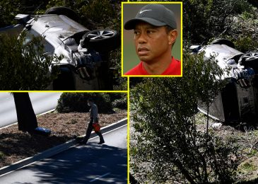 Tiger Woods 'awake and responsive' in hospital with golf legend 'fortunate to be alive' after struggling 'vital' leg accidents in automotive crash