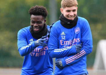 Gareth Southgate says Bukayo Saka and Emile Smith Rowe have been 'breath of contemporary air' for Arsenal as England boss expresses delight at extra homegrown kids getting Premier League likelihood