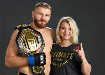 How Jan Blachowicz's fiancée Dorota Jurkowska saved his UFC profession with a determined telephone name to Mick Maynard as he prepares to face Israel Adesanya at UFC 259