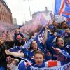 A whole bunch of Rangers followers collect exterior Ibrox to rejoice Scottish Premiership title win regardless of coronavirus lockdown guidelines