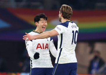 Harry Kane and Heung-Min Son break Premier League report and Gareth Bale scores two extra as Tottenham smash Crystal Palace