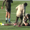 Moussa Dembele collapses throughout Atletico Madrid coaching sparking panic amongst gamers and medical employees