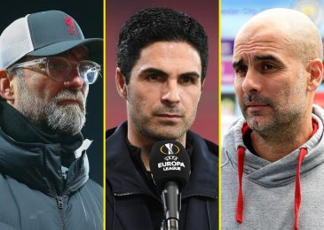 Arsenal 'don't get sufficient reward' and Mikel Arteta is 'third-best supervisor within the Premier League after Guardiola and Klopp'