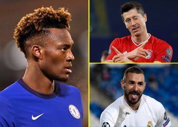 'Undervalued' Tammy Abraham in comparison with Robert Lewandowski and Karim Benzema and 'Man City, Manchester United and Arsenal would signal Chelsea striker in a heartbeat'