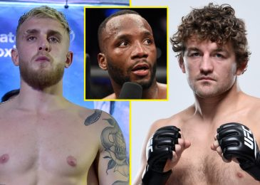 Leon Edwards predicts Jake Paul will knock Ben Askren out