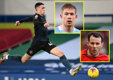 Man City starlet Phil Foden likened to Ryan Giggs, however 'needs to be up there with Kevin De Bruyne subsequent season' as Gazza comparisons are addressed