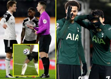 Fulham denied equaliser towards Tottenham as a result of handball noticed by VAR as Jose Mourinho's facet finish run of away defeats
