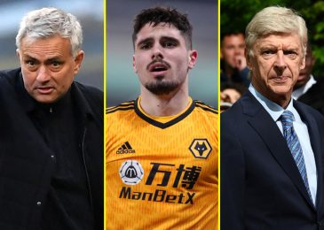 Arsenal are Pedro Neto's favorite staff and Wolves sensation had trials at Manchester United as Arsene Wenger and Jose Mourinho are proved proper