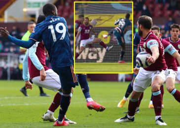 Burnley by some means maintain on for draw with Arsenal as VAR takes centre stage in frantic end after Granit Xhaka mistake