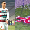 Referee who infuriated Cristiano Ronaldo was 'embarrassed' and 'apologised' to Portugal supervisor Fernando Santos after big mistake