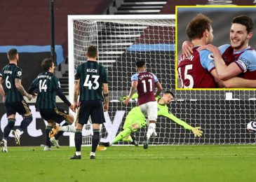 West Ham enhance prime 4 probabilities with win over Leeds as Patrick Bamford has night time to neglect in entrance of objective