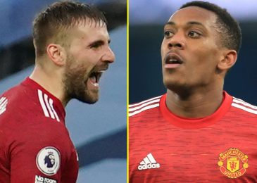Ole Gunnar Solskjaer reveals Manchester United match-winners Anthony Martial and Luke Shaw nearly did not begin and hails 'good boy' left-back
