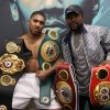 Anthony Joshua welcomes Floyd Mayweather link-up forward of Tyson Fury combat and invitations Wladimir Klitschko to hitch him