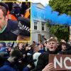 Petr Cech pleads with protesting Chelsea followers as tons of collect exterior Stamford Bridge to rally in opposition to European Tremendous League and Blues PULL OUT of deliberate breakaway competitors