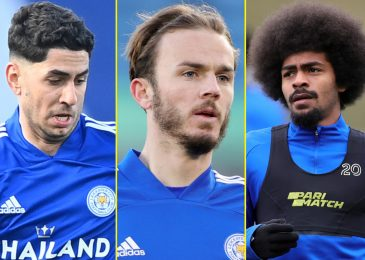 Brendan Rodgers confirms Leicester trio James Maddison, Hamza Choudhury and Ayoze Perez have been dropped for defeat to West Ham after Covid breach… with Maddison lacking key probability to impress England boss Gareth Southgate forward of Euro finals