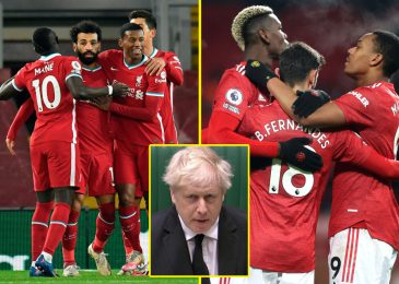 Boris Johnson assaults Premier League 'massive six' over European Tremendous League plans as UEFA model it a 'cynical mission' and warn gamers face being BANNED
