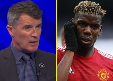 Roy Keane responds to Paul Pogba's scathing Jose Mourinho criticism and says Manchester United star is but to show himself