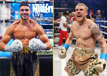 Tommy Fury planning to crash Jake Paul's health club and confront YouTuber with brother Tyson Fury subsequent week after attending Canelo Alvarez vs Billy Joe Saunders