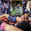 Conor McGregor needs Chris Weidman speedy restoration after horror leg harm at UFC 261 as Infamous says 'cautious on them leg kicks lads' forward of Dustin Poirier trilogy conflict