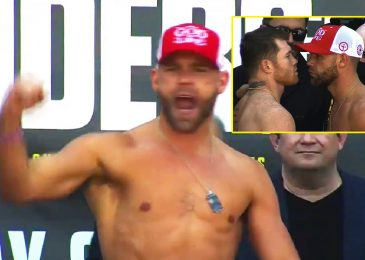 Billy Joe Saunders relentlessly booed by Canelo Alvarez followers as each males make weight forward of unification battle