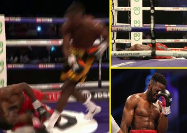 Joshua Buatsi scores huge KO of unbeaten opponent who CRIES within the ring after struggling first defeat