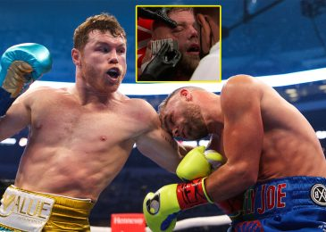 Mexican celebrity stops Brit as nook ends combat as a result of ugly eye harm