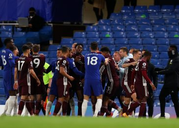 Chelsea v Leicester LIVE response: Enormous brawl breaks out as Blues actual revenge for FA Cup defeat to spice up prime 4 hopes
