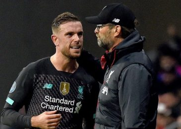 Jordan Henderson will NOT play for Liverpool once more this season however must be out there for Euro 2020, reveals Jurgen Klopp, who hails 'greatest supervisor on this planet' Pep Guardiola