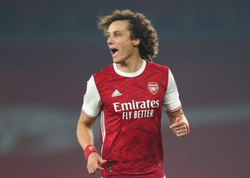 David Luiz to depart Arsenal at finish of season as former Chelsea defender is linked with change to David Beckham's Inter Miami