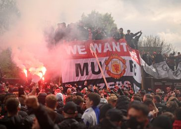 Man arrested over assault of police officer, who suffered damaged eye socket and face wound throughout Outdated Trafford protests that postponed Man United vs Liverpool