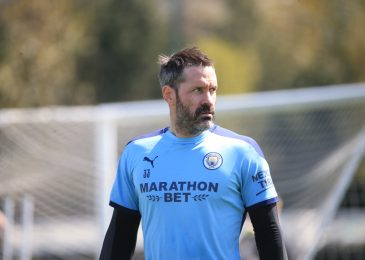 Scott Carson set to make first Man City look as veteran goalkeeper named in beginning XI towards Newcastle