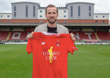 Harry Kane renews 'magic partnership' with Leyton Orient after Ed Sheeran groups up with boyhood membership Ipswich