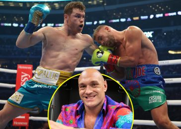 Tyson Fury sends touching message of help to Billy Joe Saunders after defeat to Canelo Alvarez