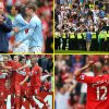 Man City mark 13-year anniversary of 8-1 defeat to Gareth Southgate's Middlesbrough by profitable a fifth Premier League title to completely illustrate their transformation