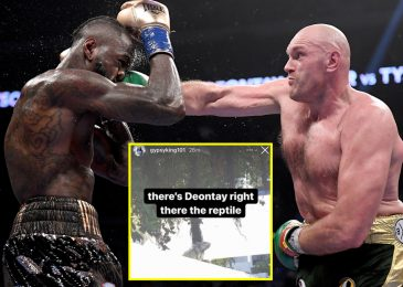 Tyson Fury calls Deontay Wilder a 'reptile' as Gypsy King breaks silence following information of American's bid to derail combat with Anthony Joshua