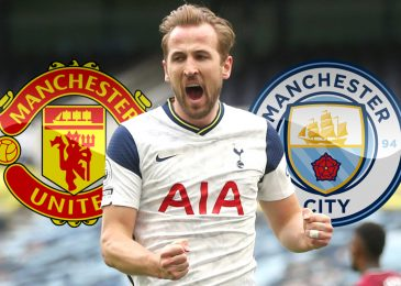 Manchester United and Man City emerge as favourites to signal Harry Kane as England captain 'asks to go away Tottenham'
