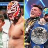 Rey Mysterio, 43, and his son Dominik, 24, make historical past as the primary ever father-son WWE Tag Group champions