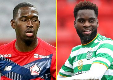 Leicester closing in on Celtic striker Osdonne Edouard and Lille midfielder Boubakary Soumare as Foxes put together to spend massive in summer season switch window