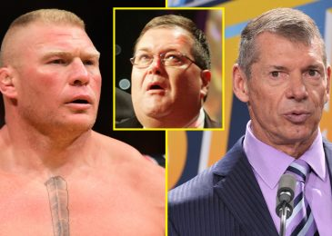 Jim Ross reveals Vince McMahon's response when he first noticed peak and dimension of Brock Lesnar and knew WWE 'had the man'
