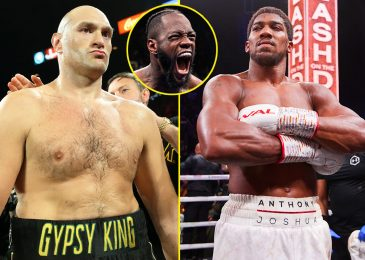 Anthony Joshua vs Tyson Fury plunged into critical doubt as Deontay Wilder WINS authorized case for third battle with Fury