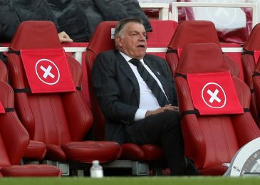 Sam Allardyce refuses to commit future to West Brom after experiencing Premier League relegation for first time as supervisor after Arsenal defeat