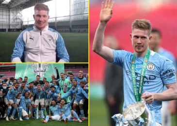 Kevin De Bruyne tells talkSPORT Man City will be dominant for subsequent 50 years, reveals why he didn't want an agent for brand spanking new contract and admits he gained't even let his son win a sport of soccer!