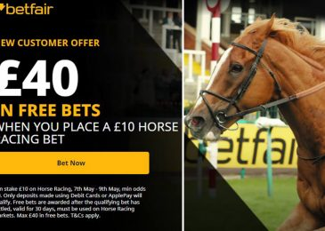 Declare £40 in free bets this weekend