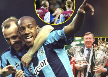 Dion Dublin is 'the rationale Manchester United received so many trophies', Sir Alex Ferguson liked him, Eric Cantona changed him, and he needs he'd headbutted Robbie Savage tougher