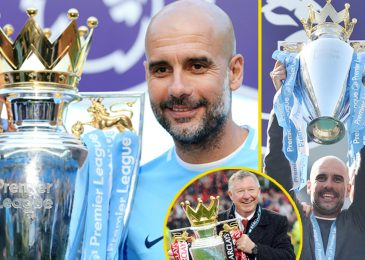 Pep Guardiola is a Premier League champion AGAIN as Man City affirm title and supervisor might win Champions League and have similar impact as Sir Alex Ferguson on English soccer