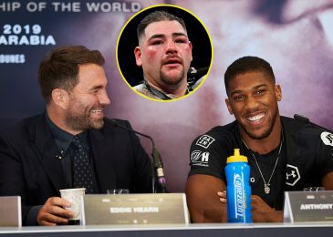 Andy Ruiz Jr reveals DM trade with Eddie Hearn about Anthony Joshua trilogy after Tyson Fury struggle collapse
