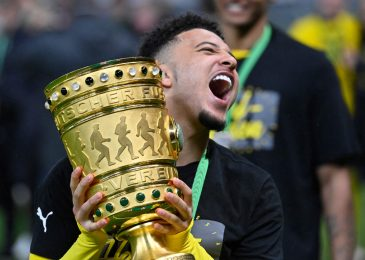 Manchester United instructed to pay 'take-it-or-leave-it' asking worth of £77million plus add-ons for Jadon Sancho by Borussia Dortmund as switch saga continues